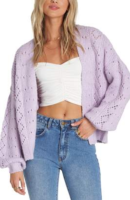 Billabong Blissed Out Pointelle Cardigan
