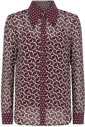 Michael Kors Geometric Print Shirt