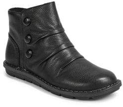 Clarks Collection By Janice Verna Leather Ankle Boots