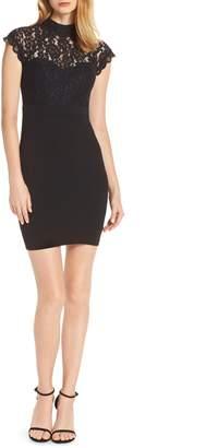 LuLu*s Lace Sheath Dress