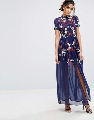 Frock And Frill Frock & Frill Sequin Maxi Dress