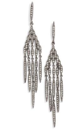 Women's Nadri Kate Pave Chandelier Earrings $98 thestylecure.com