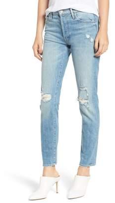 Mother The Stinger Flood Slim Straight Leg Jeans