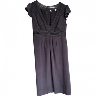 Whistles Purple Silk Dress for Women