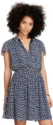 Ralph Lauren Denim & Supply Floral-Print Gauze Dress $125 thestylecure.com
