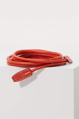 Acne Studios Leather rope belt