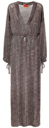 Missoni Knitted metallic maxi dress