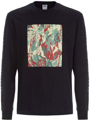 Billionaire Boys Club Lizard Camouflage Printed T-Shirt