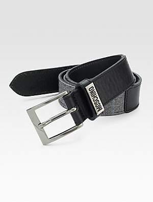Moschino Men's Wool Belt