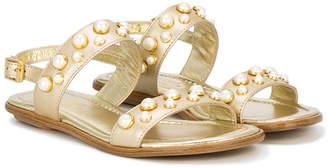Missouri Kids pearl stud sandals