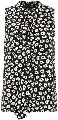 Proenza Schouler Sleeveless Ruffle Button Down blouse