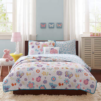 MIZONE Mi Zone Butterfly Bonanza Complete Bedding Set with Sheets