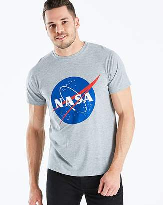 NASA Grey Marl T-Shirt Regular