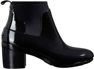 b2f873a62bd8 Hunter Refined Mid Heel Gloss Rain Boot - Women s