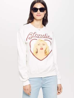 Madeworn MadeWorn Blondie Glitter Crew Fleece - Off White