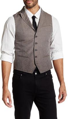 John Varvatos Collection Peak Lapel Vest $598 thestylecure.com