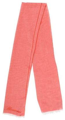 Blumarine Woven Bi-Color Scarf
