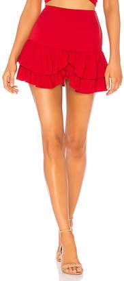 Indah Cobain Mini Skirt