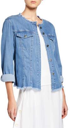 Nic+Zoe Plus Size Ease of Mind Denim Jacket