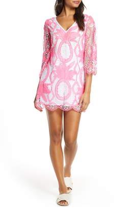 Lilly Pulitzer Lottie Crochet Lace Romper