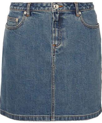 A.P.C. Denim Mini Skirt - Mid denim