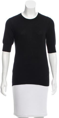Tory BurchTory Burch Short Sleeve Crew Neck Sweater