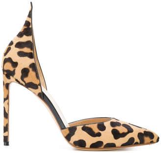 Francesco Russo leopard print pumps
