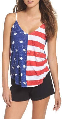 Women's Chaser Stars & Stripes Lounge Camisole $58 thestylecure.com