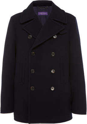 Ralph Lauren Purple Label Fullerton Wool Peacoat