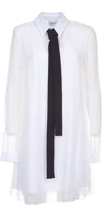 Dondup Lace Sheer Dress