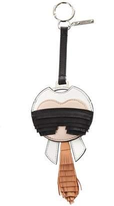 Fendi Karlito Leather Charm