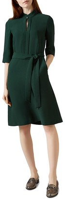 HOBBS LONDON Lois Belted Dress $290 thestylecure.com