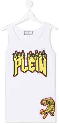 Philipp Plein Junior Teen rock tank top