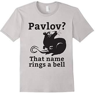 Pavlov That Name Rings A Bell Funny Psychology T-Shirt