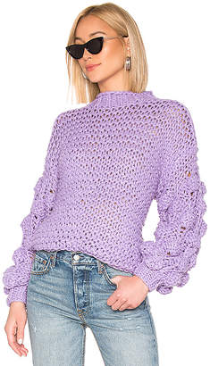 Tularosa Chunky Sleeve Sweater