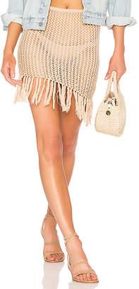 Lovers + Friends Lou Crochet Skirt