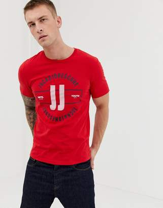 Jack and Jones Core print t-shirt