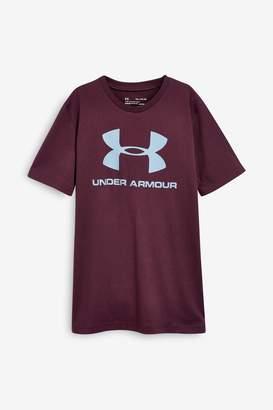 Under Armour Boys Sportstyle T-Shirt - Purple