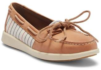 Sperry Oasis Loft Tan Stripe Boat Shoe