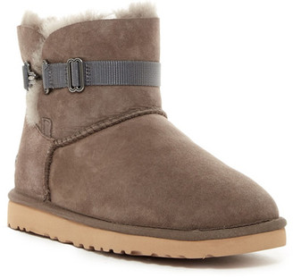UGG Australia Aurelyn Genuine Shearling Lined Strap Boot $154.95 thestylecure.com