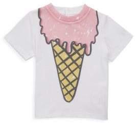 Stella McCartney Baby's Chuckle Ice Cream Cotton Tee