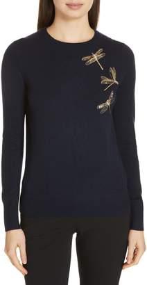 Ted Baker Nelina Sugarplum Dragonfly Sweater