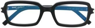 Saint Laurent (サン ローラン) - Saint Laurent Eyewear SL278 スクエア眼鏡フレーム