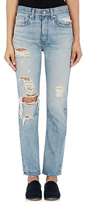Brock Collection Women's Distressed Straight Jeans