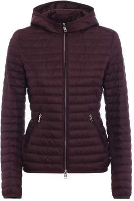 Colmar Hooded Burgundy Puffer Jacket