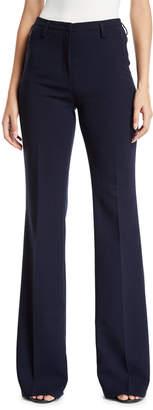 Akris Flare-Leg Mid-Rise Pants