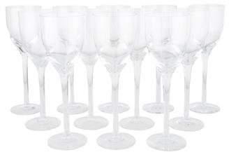 Kosta Boda Set of 12 Line Claret Wine Glasses