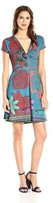 Desigual Women's Little Rock Kniteed Short Sleeve Dress
