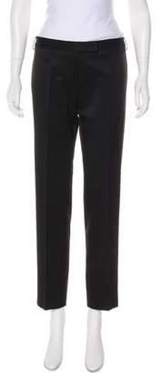 CNC Costume National Mid-Rise Wool-Blend Pants