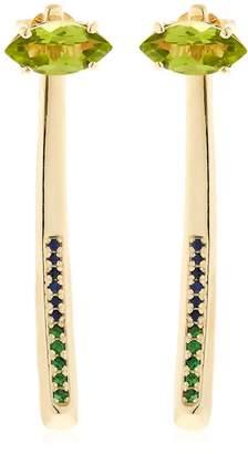 Bea Yuk Mui Bongiasca Tiger Lily Prosperity Gold Earrings